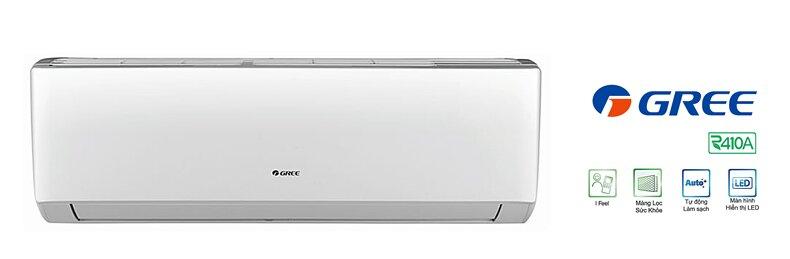 Tổng hợp những dòng máy lạnh Gree 1 chiều giá rẻ chỉ từ 5 triệu đồng
