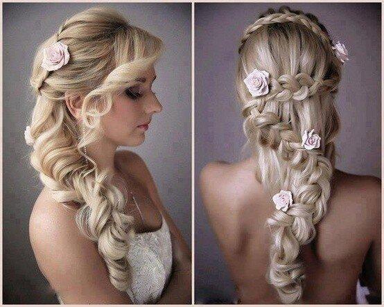 Tổng hợp những kiểu tóc đẹp nhất cho cô dâu tóc dài