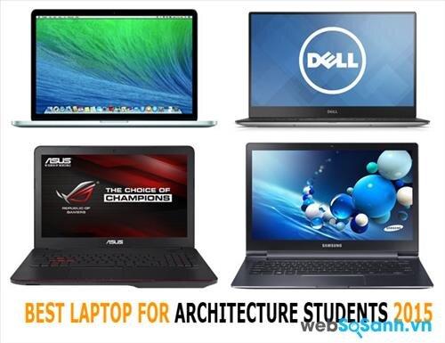 Tổng hợp những laptop phù hợp với sinh viên kiến trúc