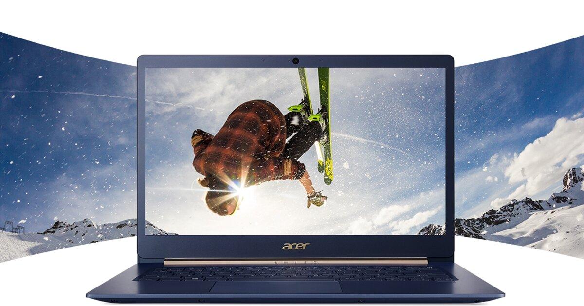 """Tổng hợp những mẫu laptop Acer chạy chip Intel thế hệ 8 cực """"hot"""" vừa được ra mắt"""