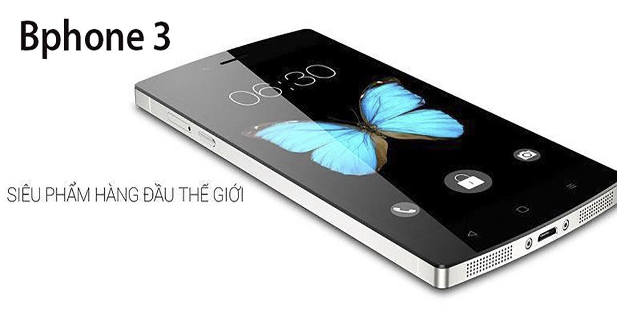 Tổng hợp những thông tin về điện thoại Bphone 3 trước ngày ra mắt