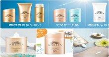 Tổng hợp tất cả các dòng sản phẩm kem chống nắng Anessa Shiseido