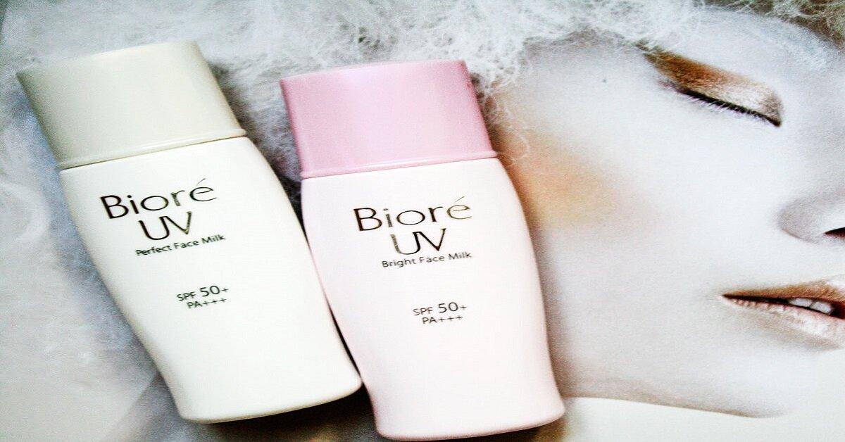 Tổng hợp tất cả những dòng sản phẩm của kem chống nắng Biore