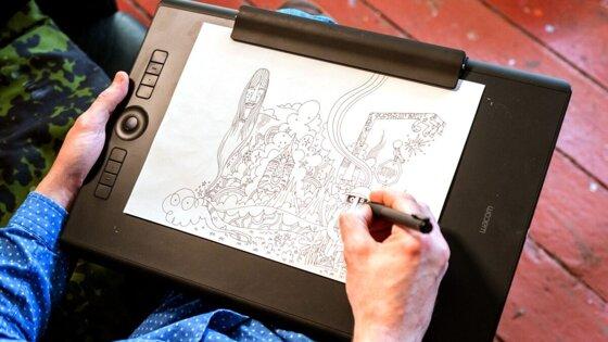 Top 10 bảng vẽ điện tử Wacom tốt nhất 2020 có bút cảm ứng siêu nhậy