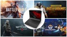 Top 10 laptop gaming 10 triệu màn hình lớn, độ phân giải FHD, RAM 8GB