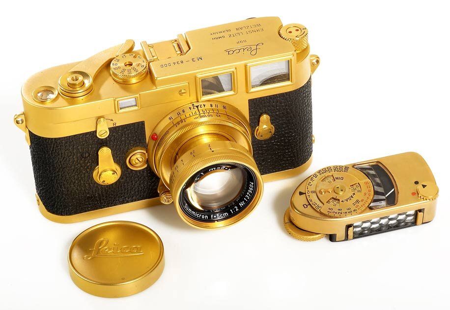 Top 10 máy ảnh đắt tiền nhất thế giới