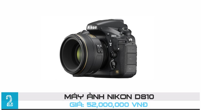 Top 10 máy ảnh DSLR Full frame tốt nhất năm 2015