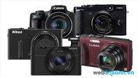 Top 10 máy ảnh số bỏ túi tốt nhất 2015