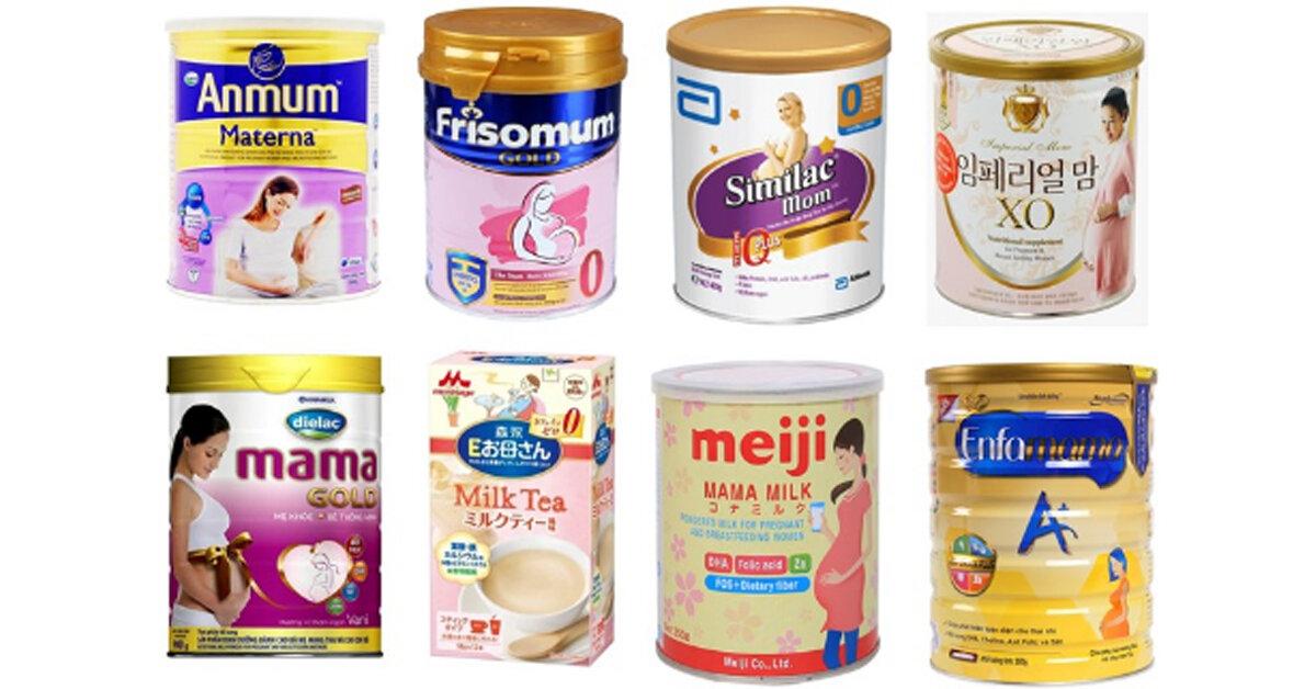 Top 10 sữa bầu tốt nhất 2018 – Uống ngon mà cực kinh tế