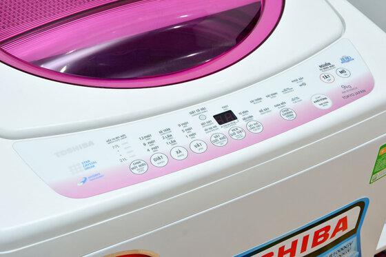 Top 11 máy giặt Toshiba 9kg cửa trên, cửa ngang tốt nhất chạy êm