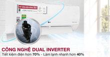 Top 3 chiếc điều hòa LG 9000BTU inverter được nhiều người mua nhất 2019