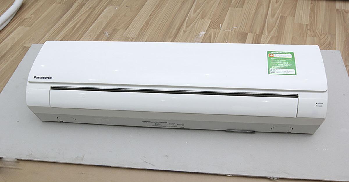 Top 3 điều hoà Panasonic 1 chiều 9000btu giá rẻ dưới 7 triệu đồng