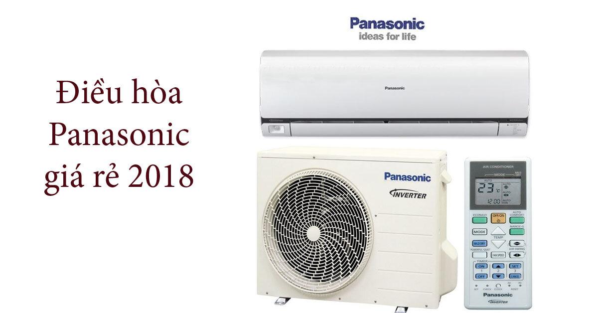 Top 3 điều hòa Panasonic 2 chiều giá rẻ nhất để mua trong năm 2018
