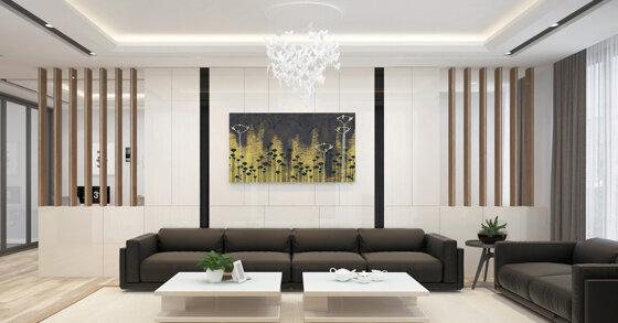 Top 3 đơn vị thiết kế nội thất phòng khách đẹp hàng đầu hiện nay