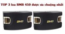 TOP 3 loa karaoke BMB 450 được người Việt ưa chuộng, mua sắm nhiều nhất