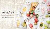 Top 3 loại mặt nạ giấy được yêu thích mùa hè