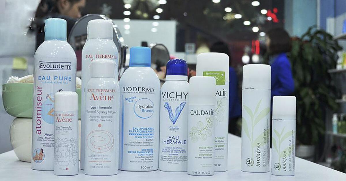 Top 3 loại xịt khoáng bổ sung độ ẩm cho da tốt nhất hiện nay