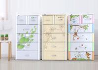 Top 3 mẫu tủ nhựa Duy Tân loại nhỏ 2 ngăn 4 tầng tiết kiệm diện tích