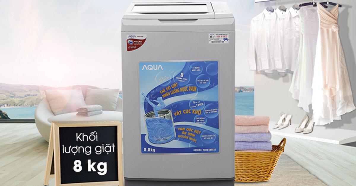 Top 3 máy giặt lồng đứng bán chạy nhất dịp Tết Nguyên Đán 2019