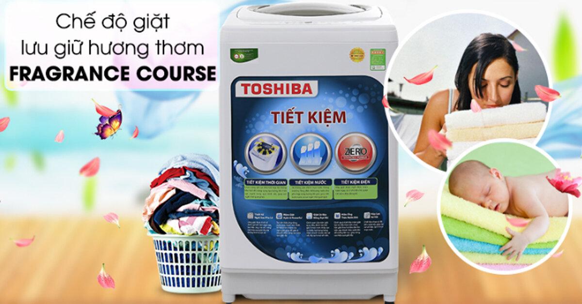 Top 3 máy giặt Toshiba tiết kiệm điện đáng mua nhất hiện nay