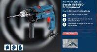 Top 3 máy khoan động lực Bosch chính hãng Đức đa năng có giá từ 1 triệu đồng