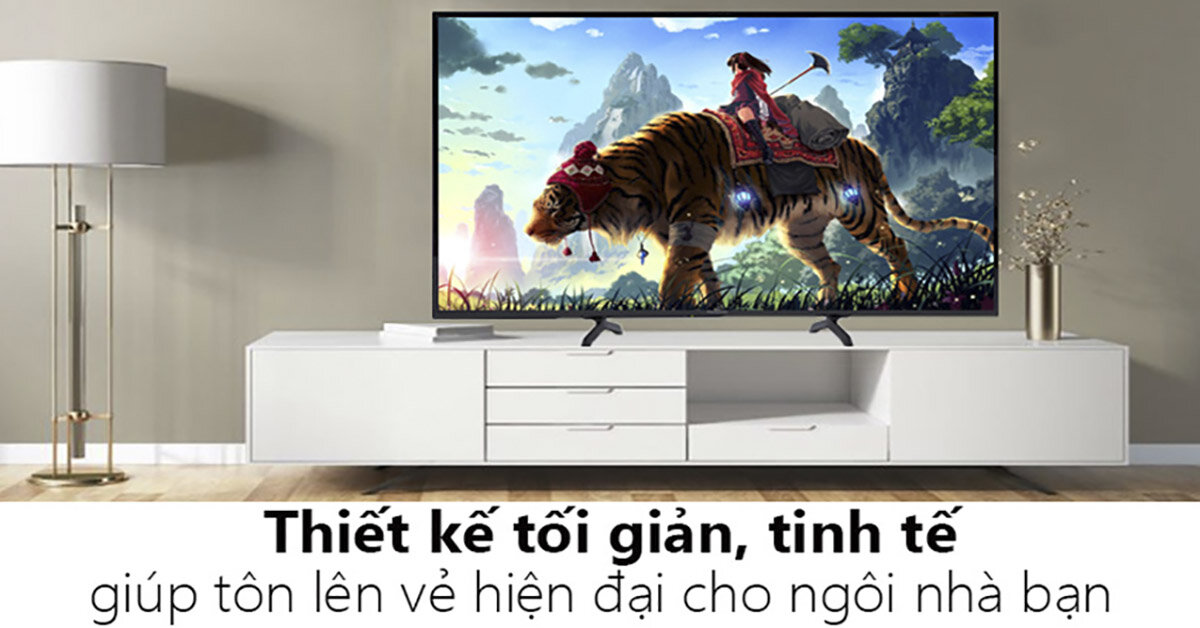 Top 3 model smart tivi 55 inch cho thiết kế màn hình mỏng ấn tượng nhất hiện nay