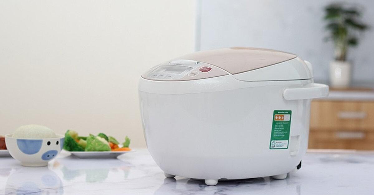 Top 3 nồi cơm điện tốt giá dưới 1 triệu – Nấu cơm ngon giữ nhiệt tốt