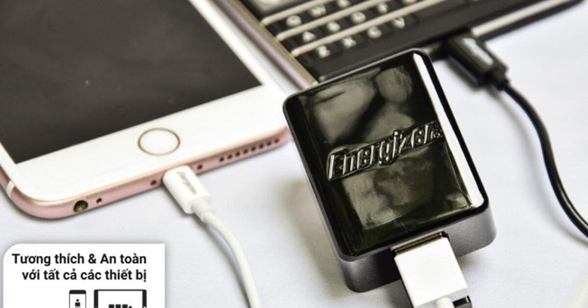 Top 3 phụ kiện điện thoại được ưa chuộng nhất thương hiệu Energizer