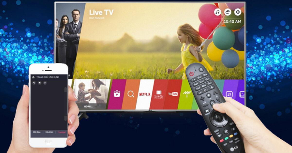 """Top 3 smart tivi LG có tính năng nổi bật """"Phóng to hình ảnh khi đang xem"""" rất thú vị tìm kiếm bằng giọng nói hỗ trợ tiếng Việt"""