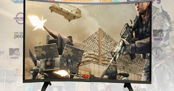 Top 3 smart tivi màn hình cong Asanzo bán chạy nhất thị trường hiện nay