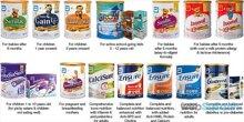 Top 3 sữa sữa công thức tốt nhất của Abbott Nutrition cho trẻ 0-6 tháng tuổi