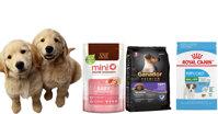 TOP 3 thức ăn khô tốt nhất dành cho chó con tập ăn dặm