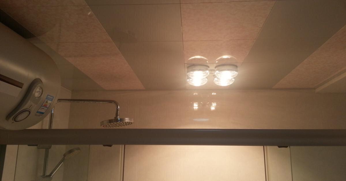 Top 3 thương hiệu đèn sưởi nhà tắm âm trần được nhiều người yêu thích