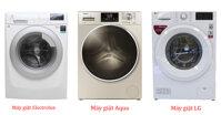 TOP 3 thương hiệu máy giặt cửa trước tốt và đáng quan tâm nhất năm 2019