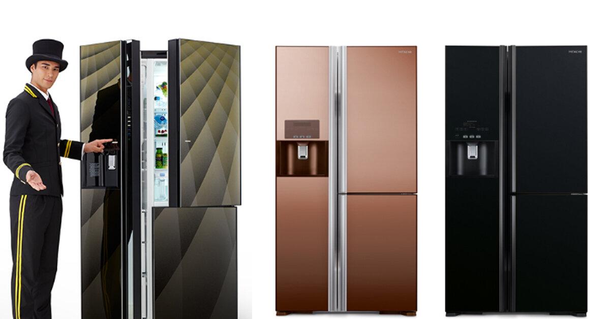 Top 3 tủ lạnh Hitachi side by side sang trọng đẳng cấp nhất hiện nay