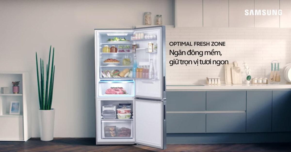 Top 3 tủ lạnh Samsung có ngăn cấp đông mềm tốt nhất 2018