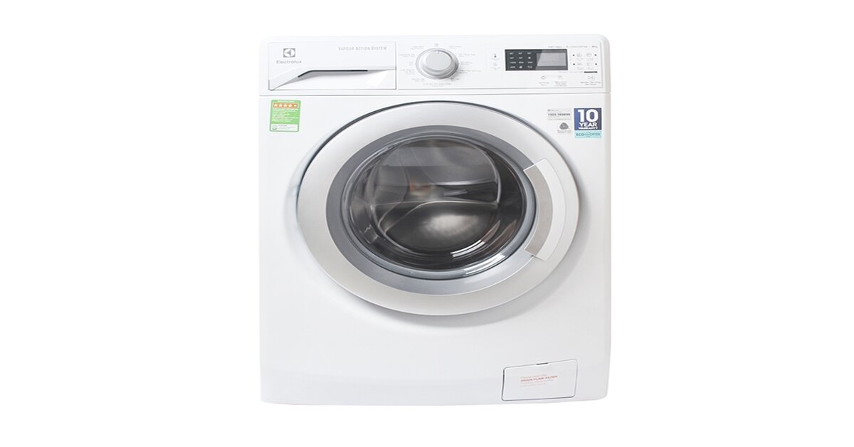 Top 4 mẫu máy giặt 8kg lồng ngang Electrolux inverter tiết kiệm điện tốt nhất 2018