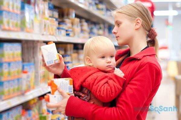 Top 4 thương hiệu thực phẩm hữu cơ an toàn cho trẻ sơ sinh