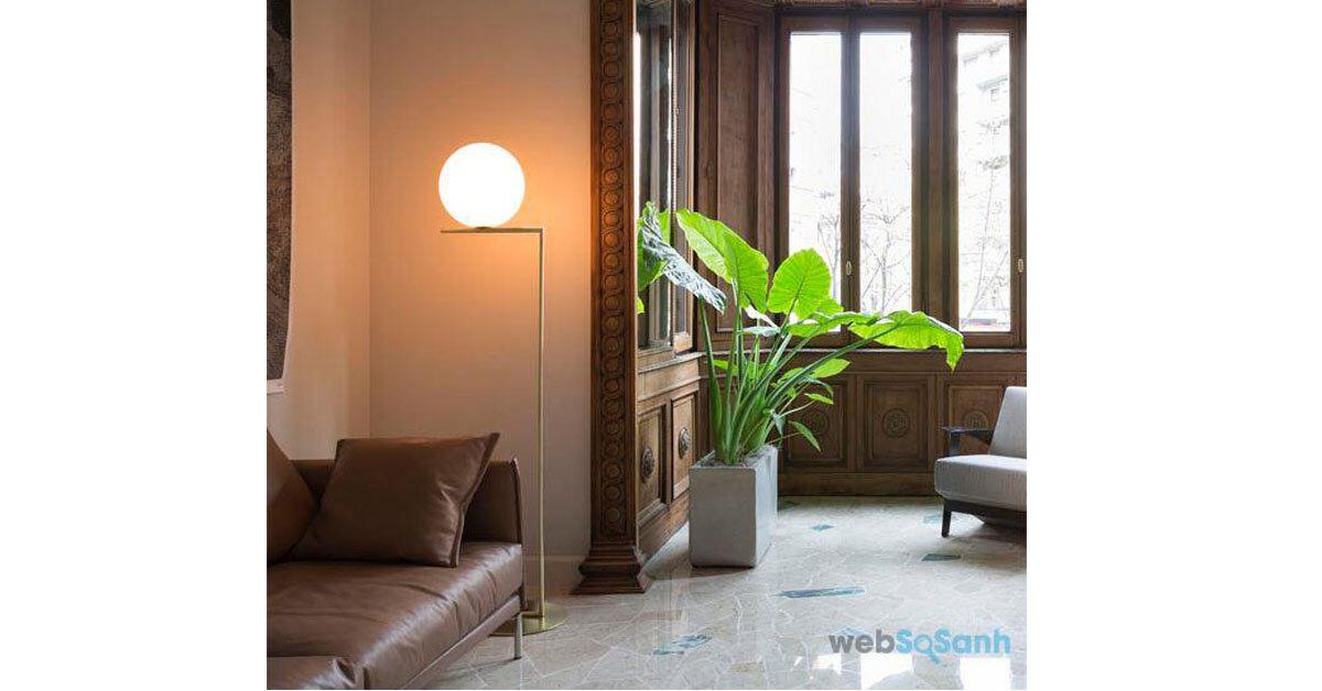 Top 5 loại đèn cây trang trí phòng khách được ưa chuộng năm nay