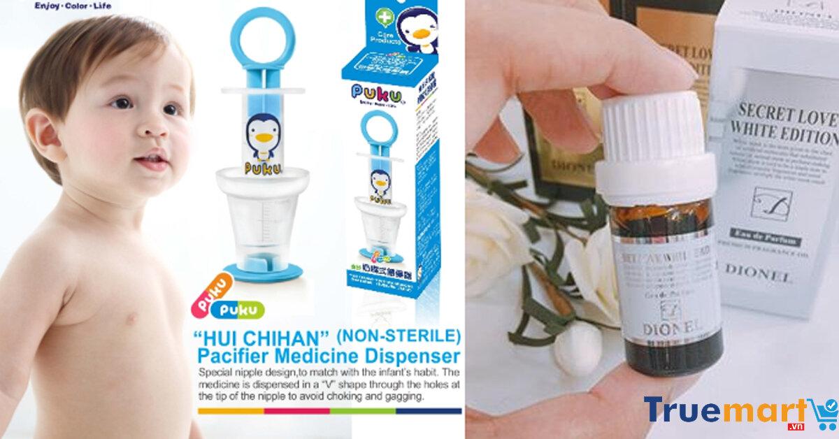 """Top 5 sản phẩm mẹ bé nhập khẩu giá tốt thường xuyên """"cháy hàng"""" tại Truemart.vn"""