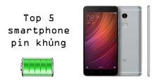 Top 5 smartphone pin khủng cấu hình mạnh dân chơi game nhất định phải mua