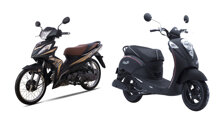 TOP 5 xe máy SYM 50cc không cần bằng lái tốt nhất thị trường năm 2019
