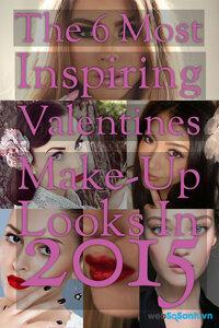 """Top 6 kiểu make-up đang """"hot"""" trong mùa Valentines 2015"""