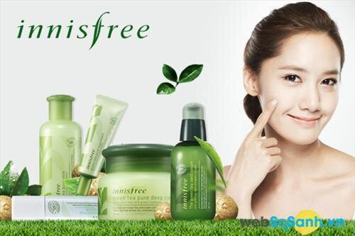 Top 6 mỹ phẩm được ưa chuộng nhất của Innisfree tại Việt Nam