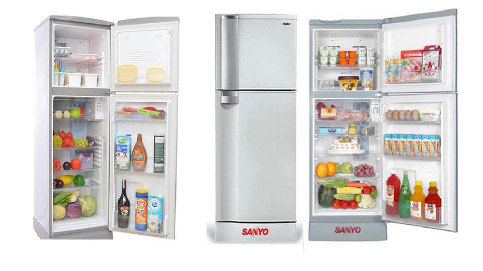 Top 6 tủ lạnh Sanyo giá rẻ 3 triệu đồng cho sinh viên và gia đình ít người