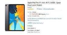 Top 6 ưu đãi iPhone, iPad, Macbook, AirPods, đồng hồ, bàn phím chuột Apple hấp dẫn cho fan táo khuyết nhân dịp Black Friday Amazon 2019