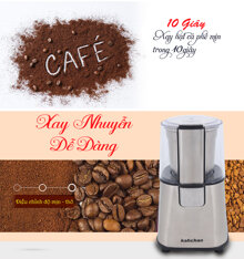 Top 7 máy xay cafe mini tốt nhất đa năng dễ lau chùi giá chỉ từ 500k