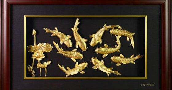 Top 7 quà tặng dát vàng , mạ vàng cao cấp MT Gold Art độc đáo và ý nghĩa nhất