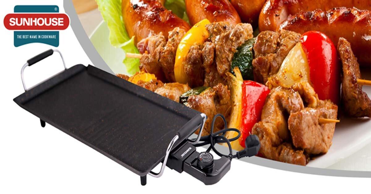 """TOP bếp nướng điện Sunhouse giá rẻ dưới 500k, party thịt nướng """"tẹt ga"""" cho gia đình nhỏ"""
