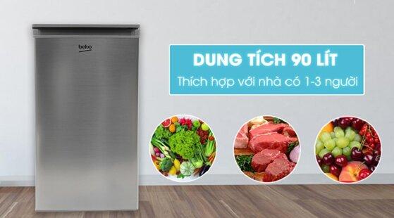 Top các loại tủ lạnh dung tích nhỏ tiết kiệm không gian